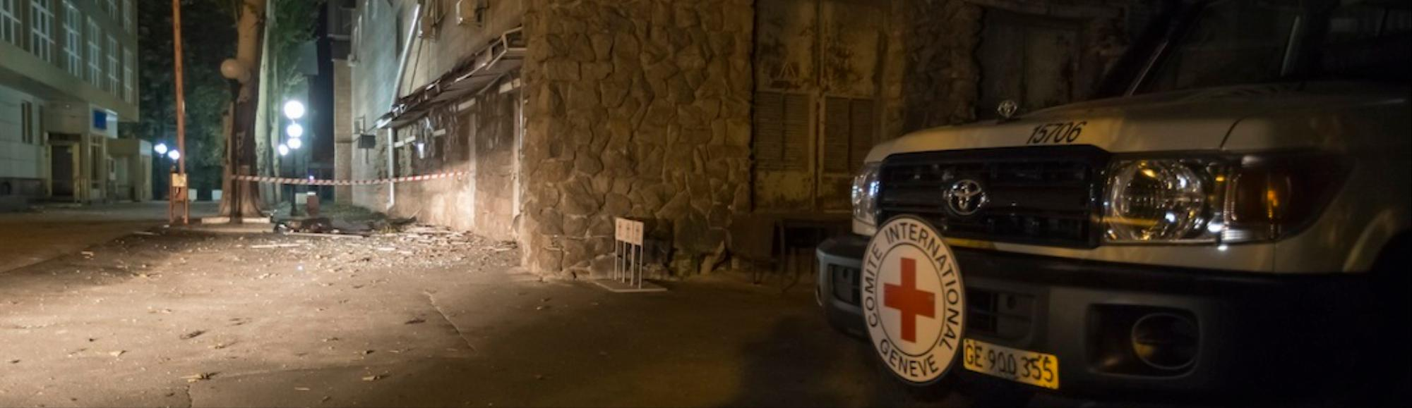 International Red Cross Worker Killed in Ukraine as Battle for Donetsk Airport Heats Up