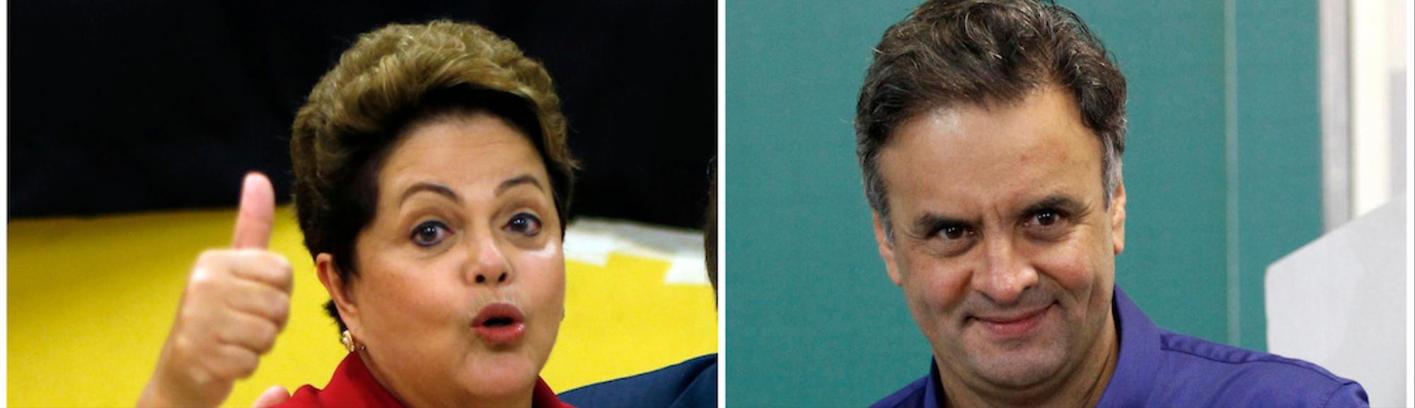 Brazil's Presidential Run-Off Pits Dilma Rousseff Against Centrist Aecio Neves