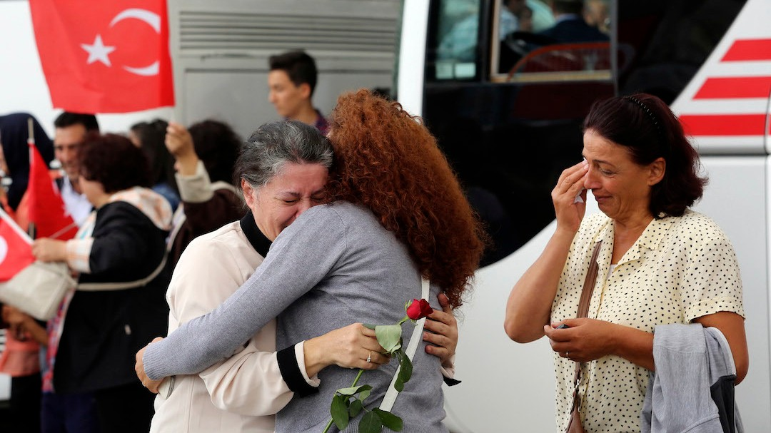 Turkey 'Freed Over 100 Islamic State Militants In Hostage Exchange'