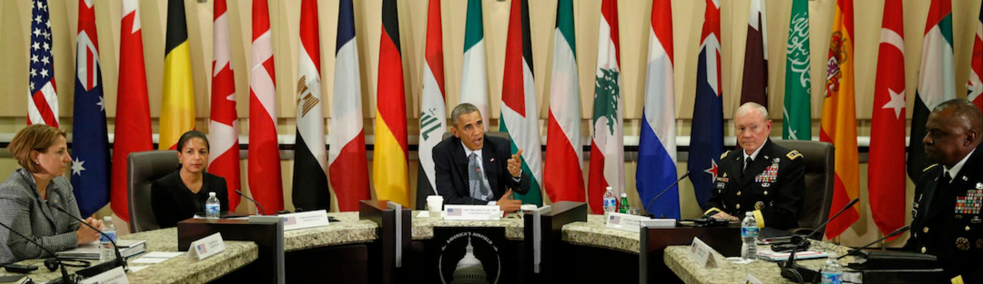 Obama Speaks of Fears for Kobane as He Rallies Support for Anti-Islamic State Coalition