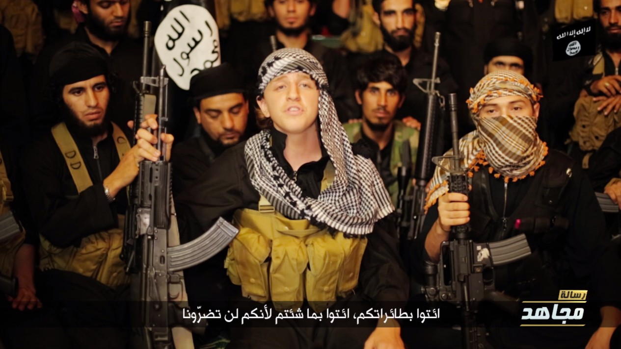 'Bring Everything You Want to Us': Australian Teen Runaway Reemerges in Online ISIS Video