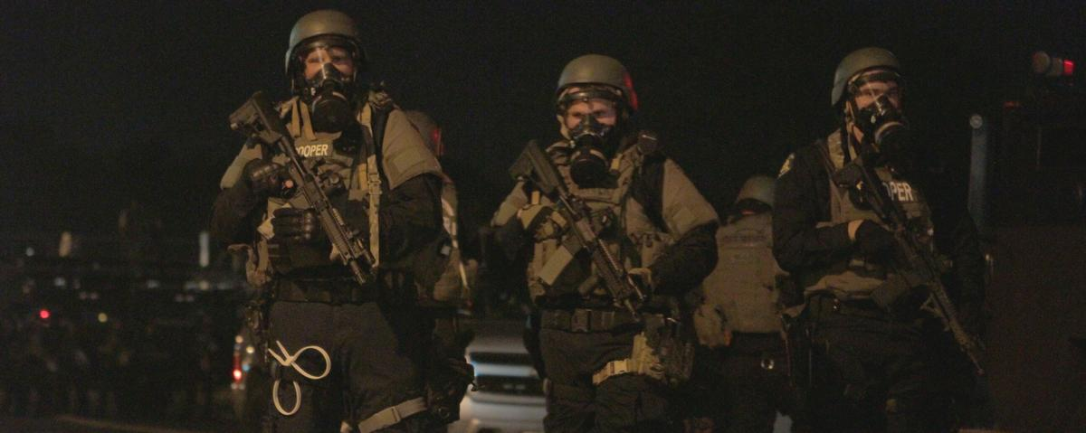 Amnesty Int'l Denounces Human Rights Abuses in Ferguson as Police Gather Riot Gear Ahead of Grand Jury Decision
