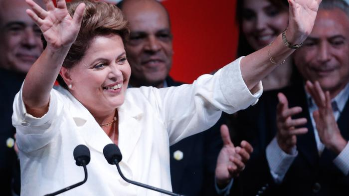 Brazilian President Dilma Rousseff Reelected in Bitterly Close Race
