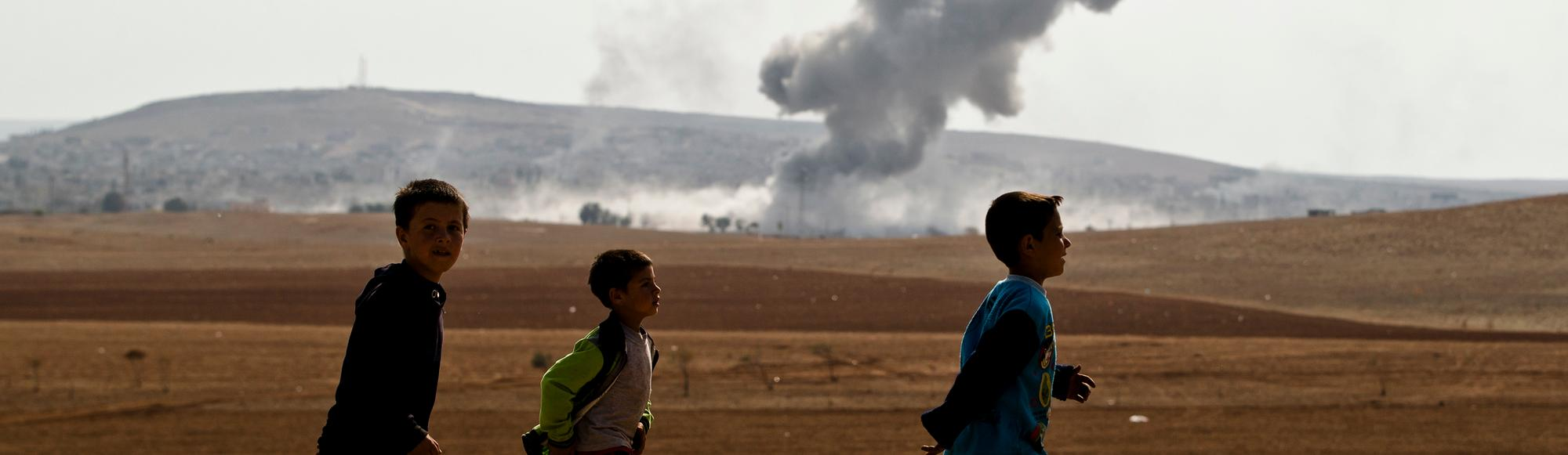 Kurdish Boys from Kobane Detail Awful Abuses at the Hands of the Islamic State