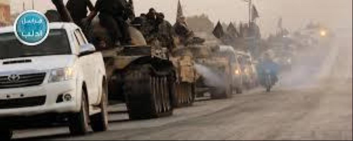 Video Shows Al Nusra Tanks Pushing North Towards 'Another Kobane'