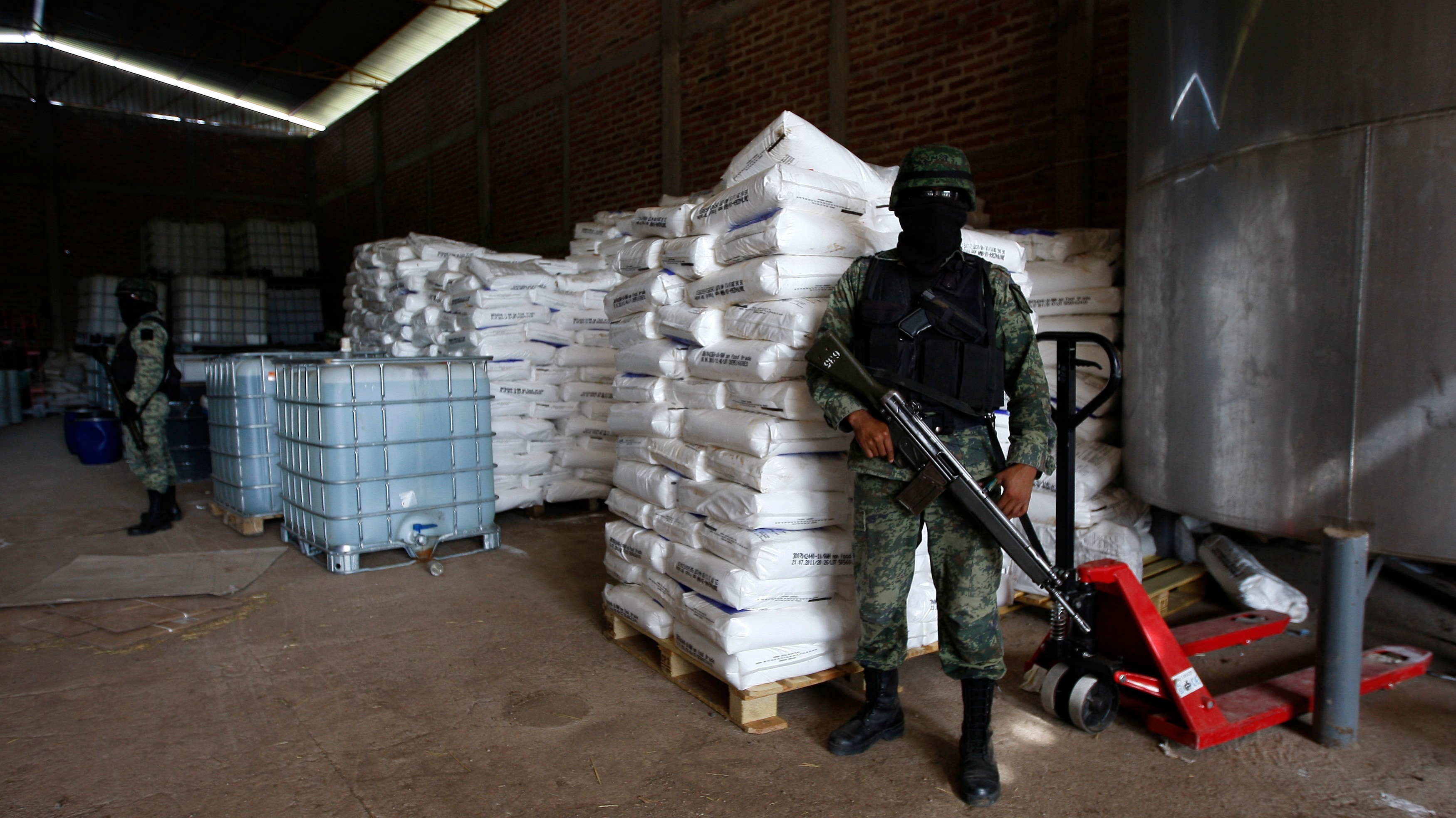 Mexican Cartels Are Putting Mom and Pop Meth Cooks Out of Business