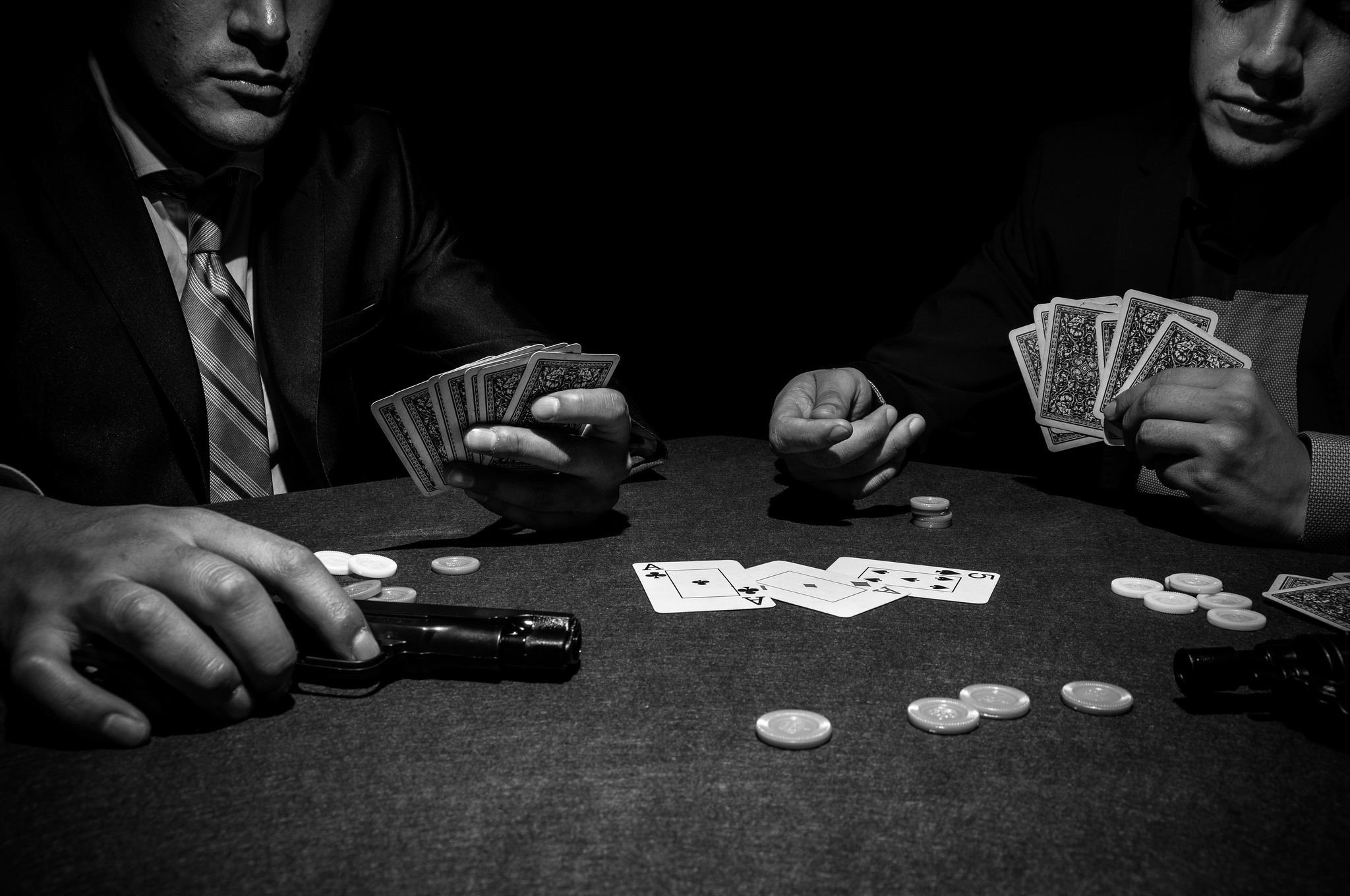 Where is the casino in mafia effects of gambling