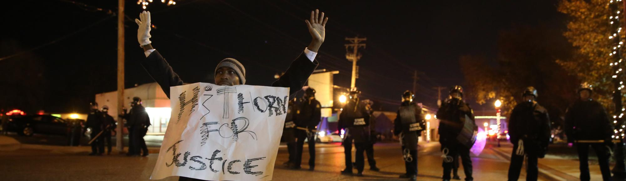 Ferguson Activists Demand Action, End to Police Militarization After Meeting With Obama