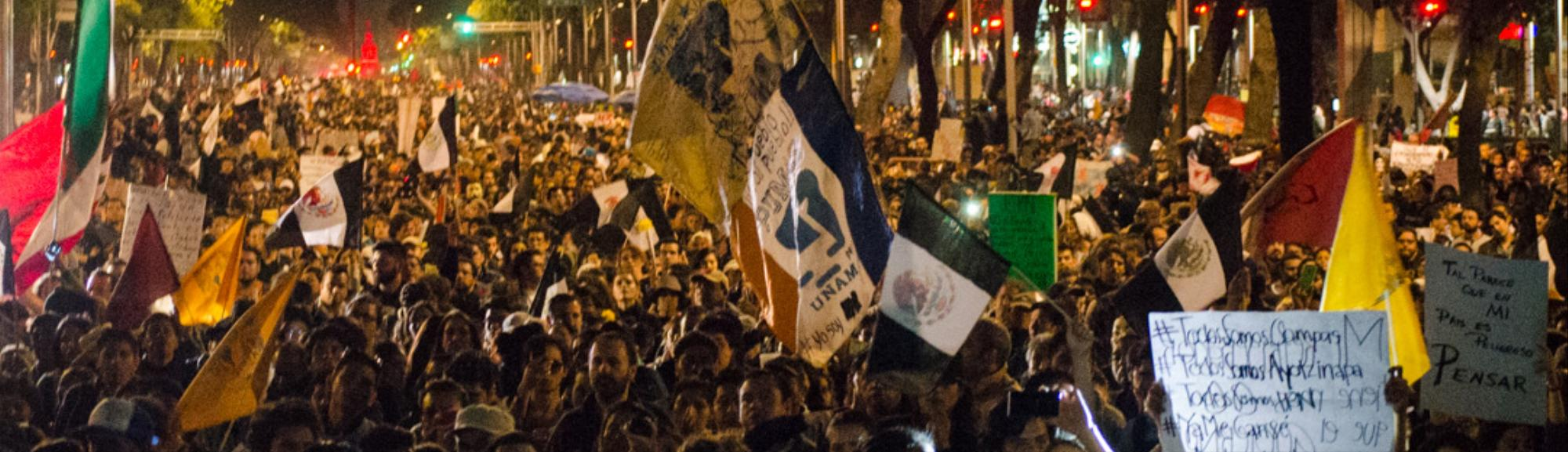 Plainclothes Police Officers Are Rioting in Mexico City Protests, Videos Show