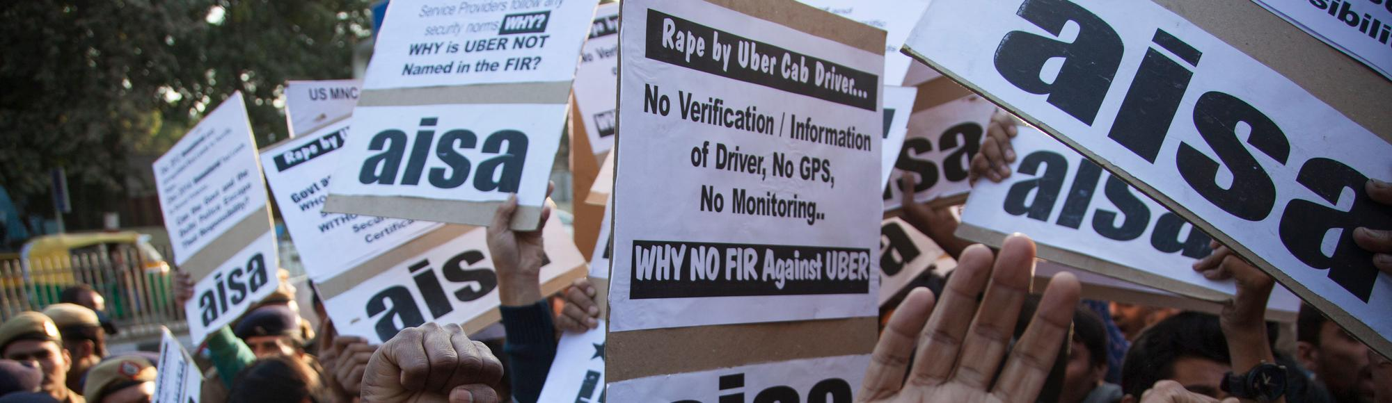 Uber Driver Arrested in India for Allegedly Raping and Threatening to Stab Passenger