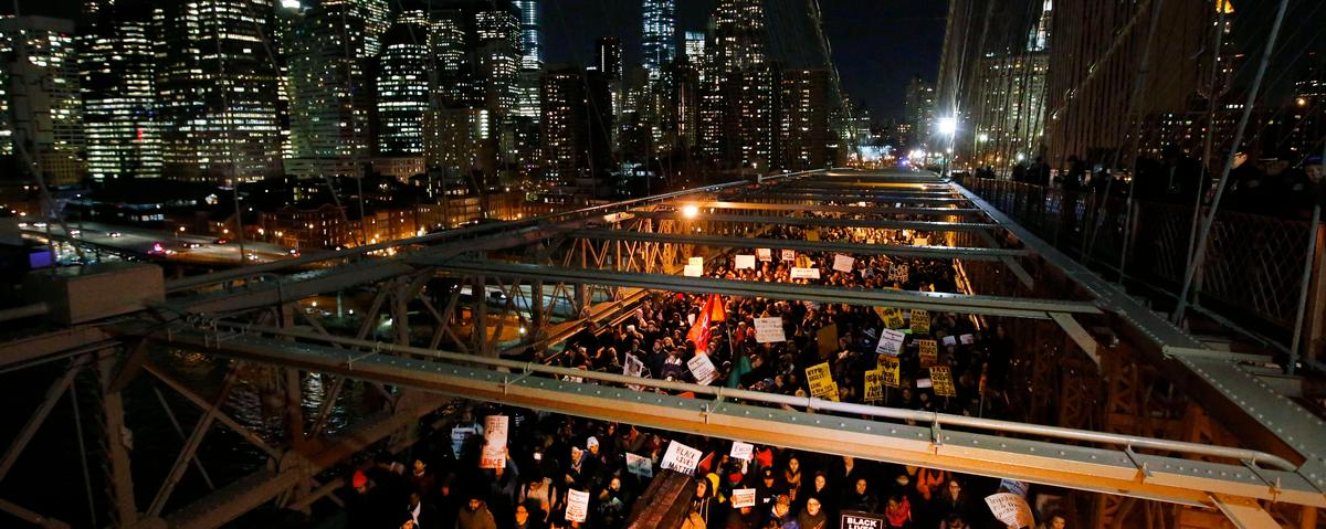 The Point of Protests Against Police Violence? To Shut the System Down