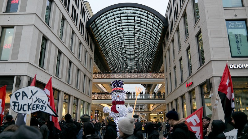 Germany's Billion-Dollar Mall Won't Pay its Builders — and the Contractors Are Bankrupt