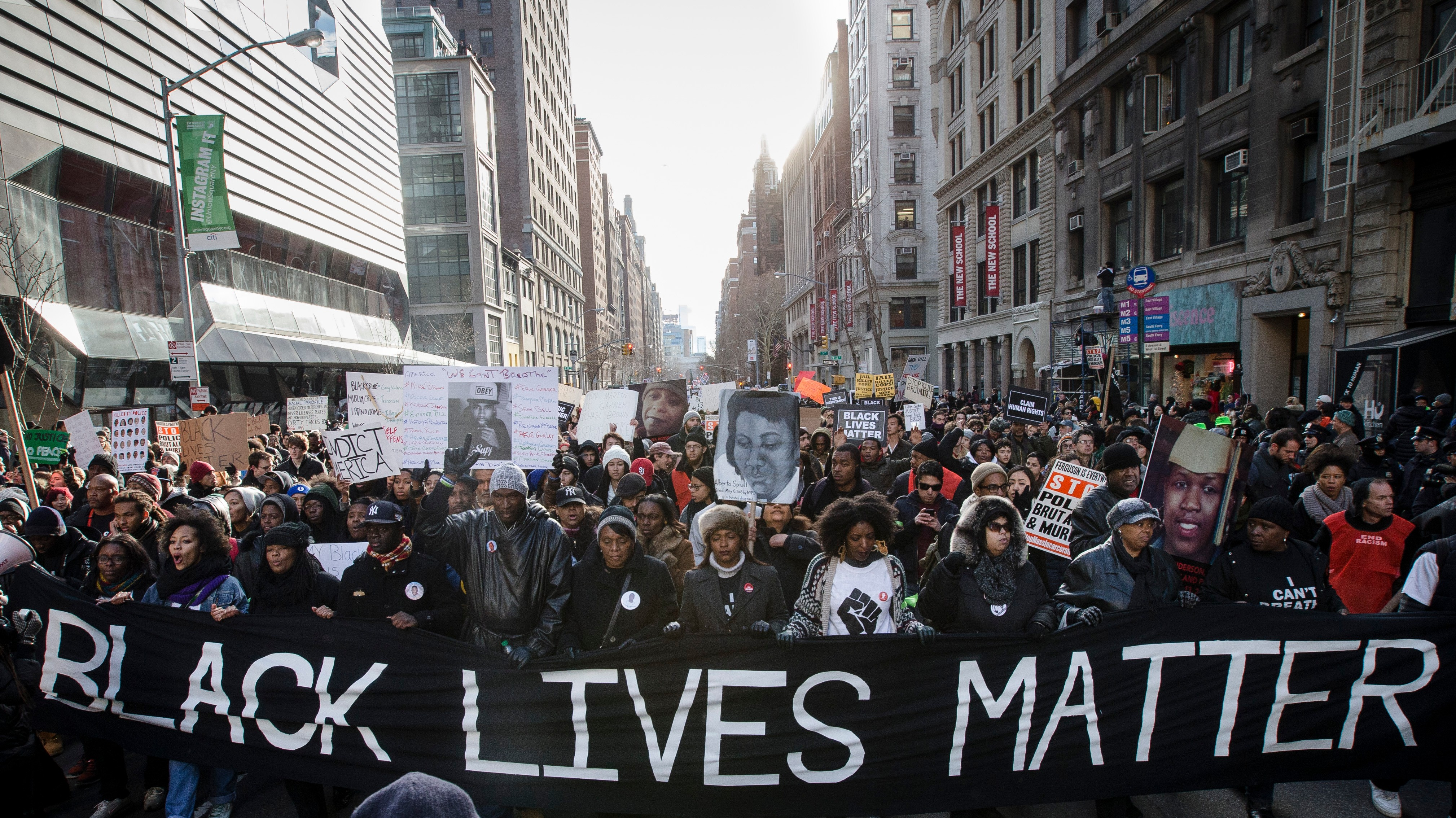 Asking For Protests to Stop After NYPD Killings Is Standing on The Wrong Side of History