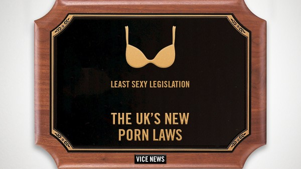 2014 VICE News Awards: Least Sexy Legislation — The UK's New Porn Laws