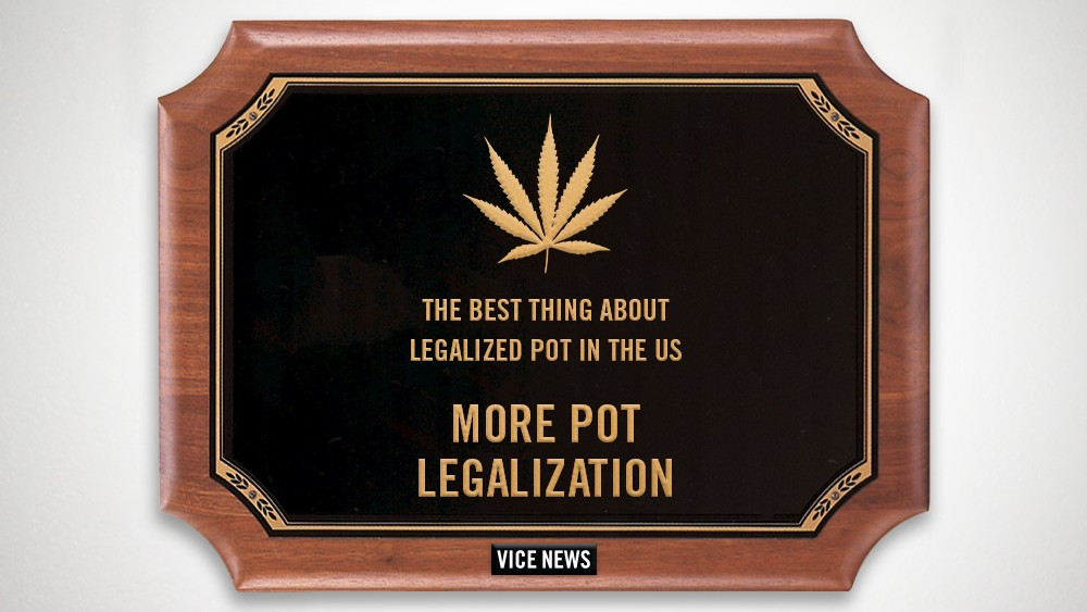 2014 VICE News Awards: Best Thing to Happen with Legalized Pot in the US — More Pot Legalization