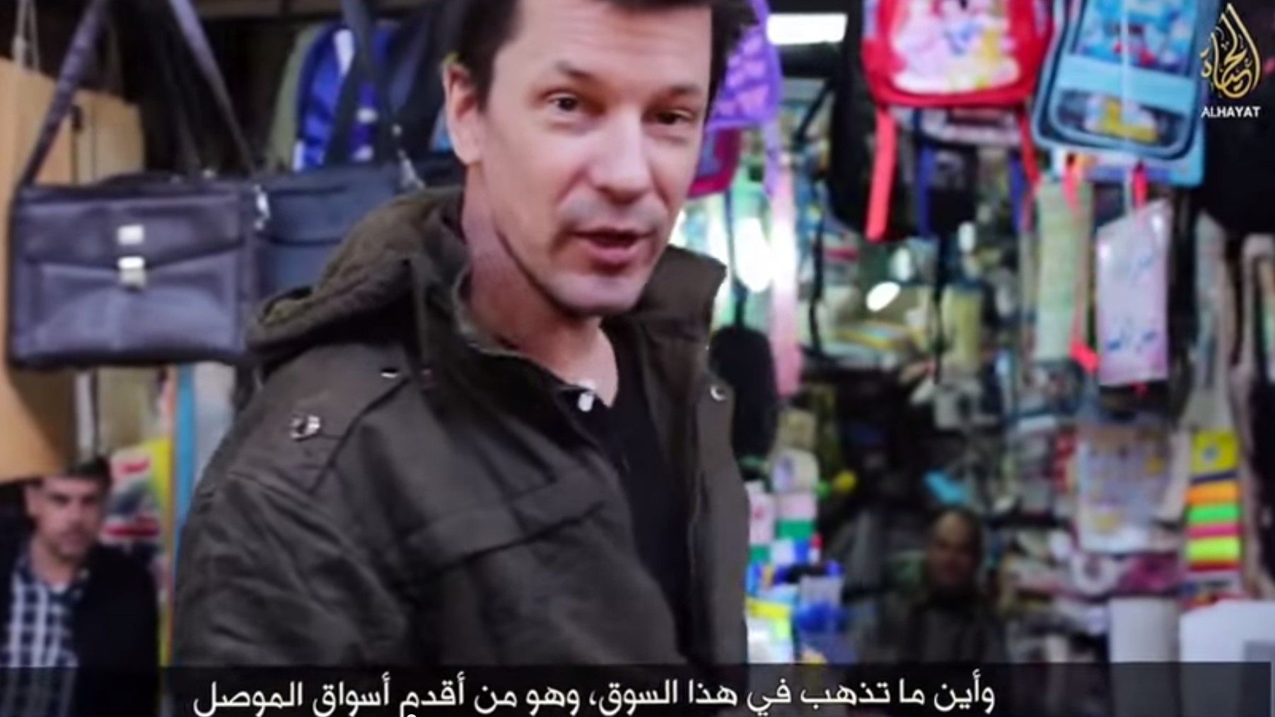 Hostage John Cantlie Takes on Mosul in Eighth Islamic State Propaganda Video