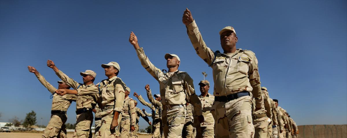 US Military Begins Training Iraqi Troops to Take On the Islamic State