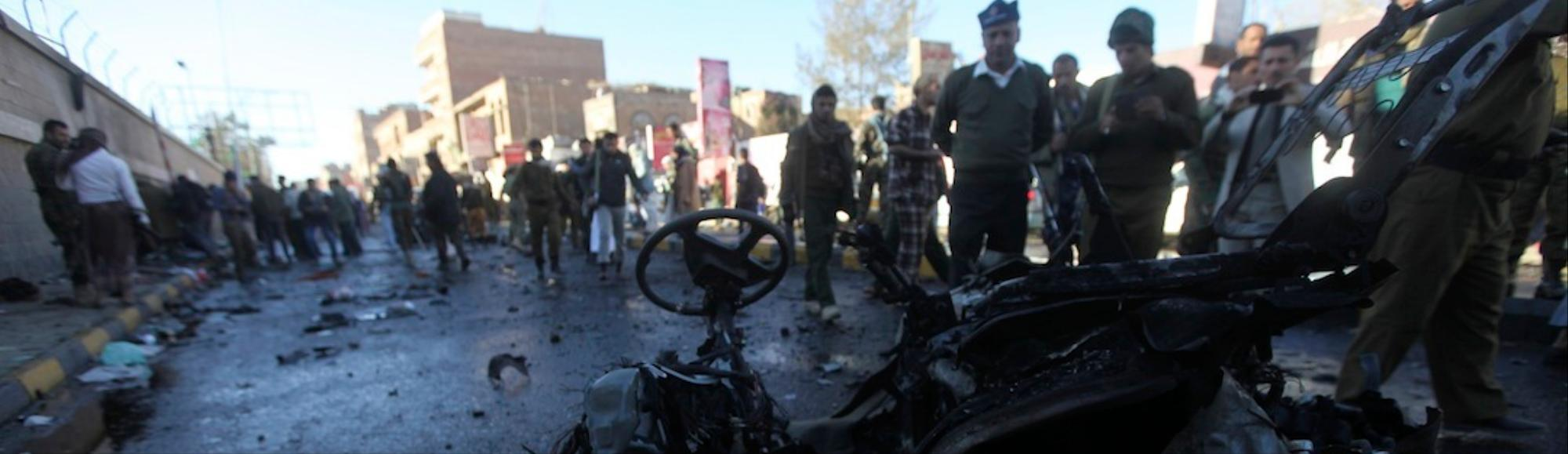 Suicide Attack On Yemeni Police Station Kills At Least 20