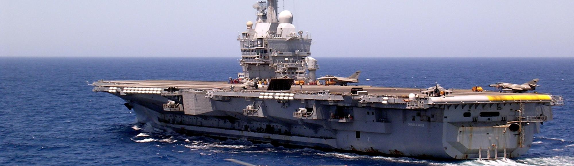 France Expected to Send Its Largest Warship to the Gulf to Fight the Islamic State