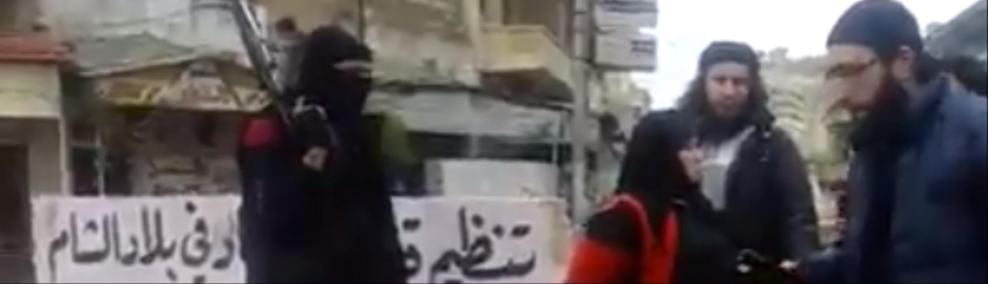 Syrian Militants Publicly Execute a Woman Accused of Committing Adultery