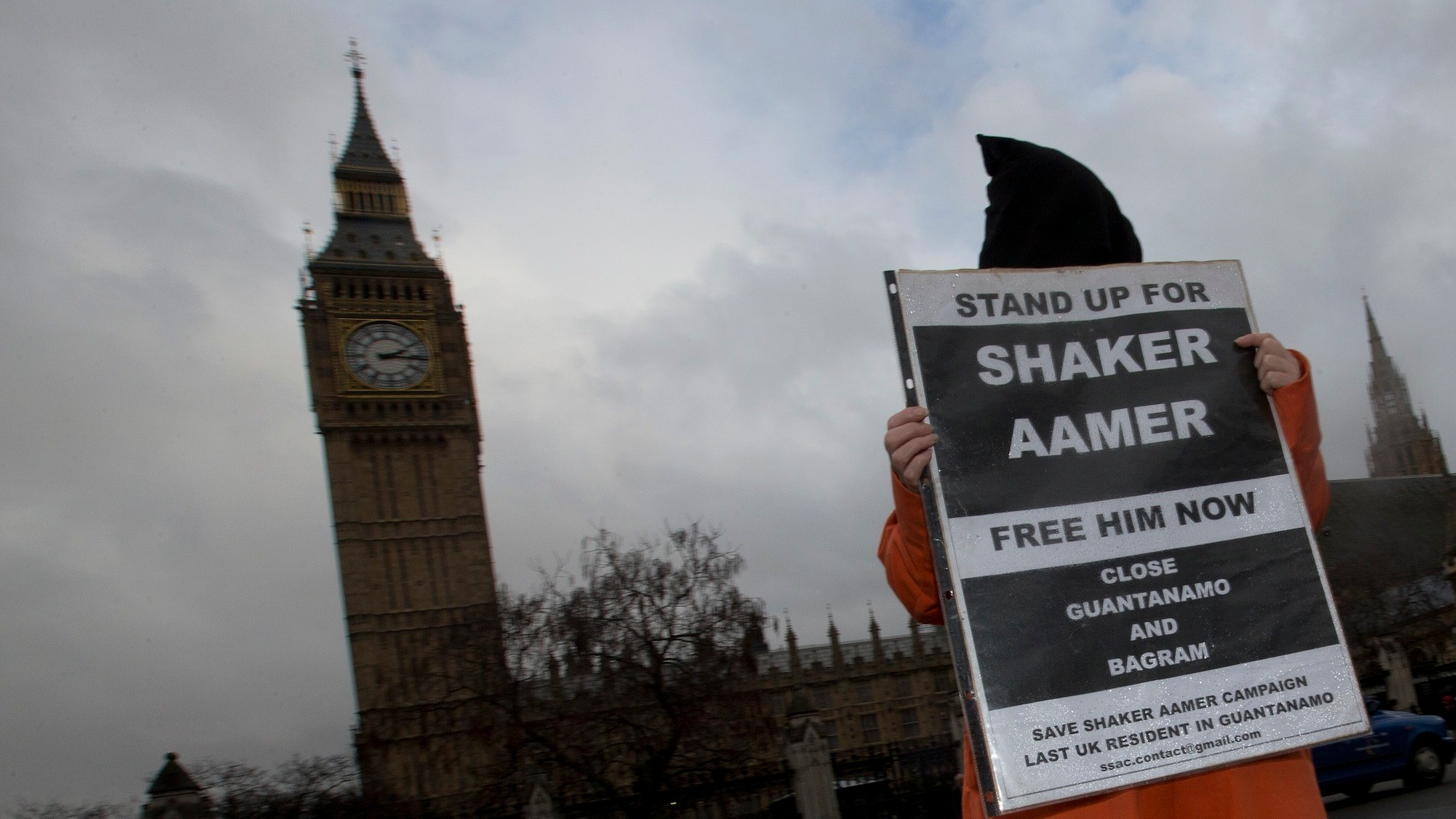 Obama Will 'Prioritize' the Case of Shaker Aamer, the Last British Detainee at Guantanamo