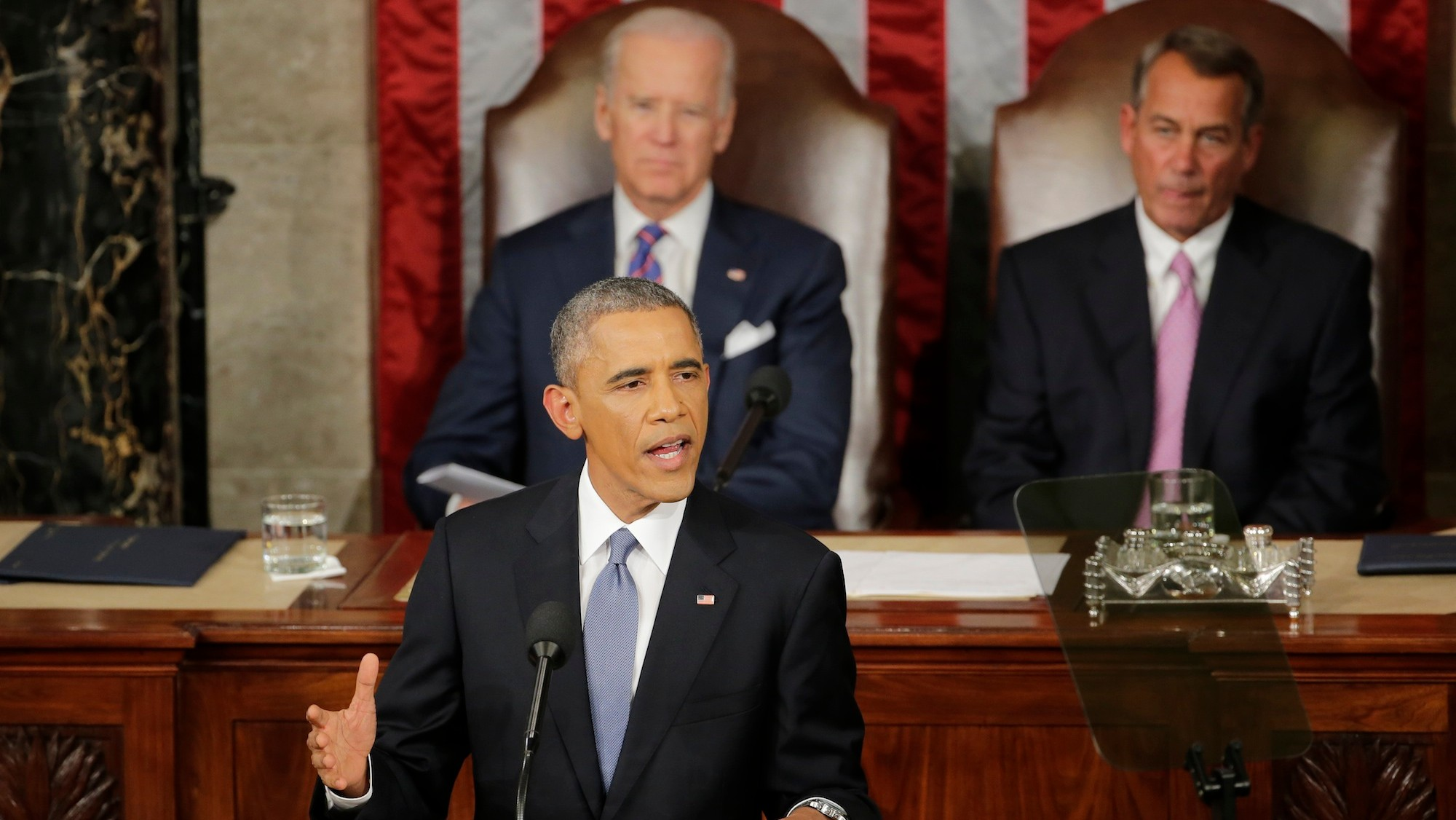 Obama's State of the Union Address: 'This Is Good News, People'