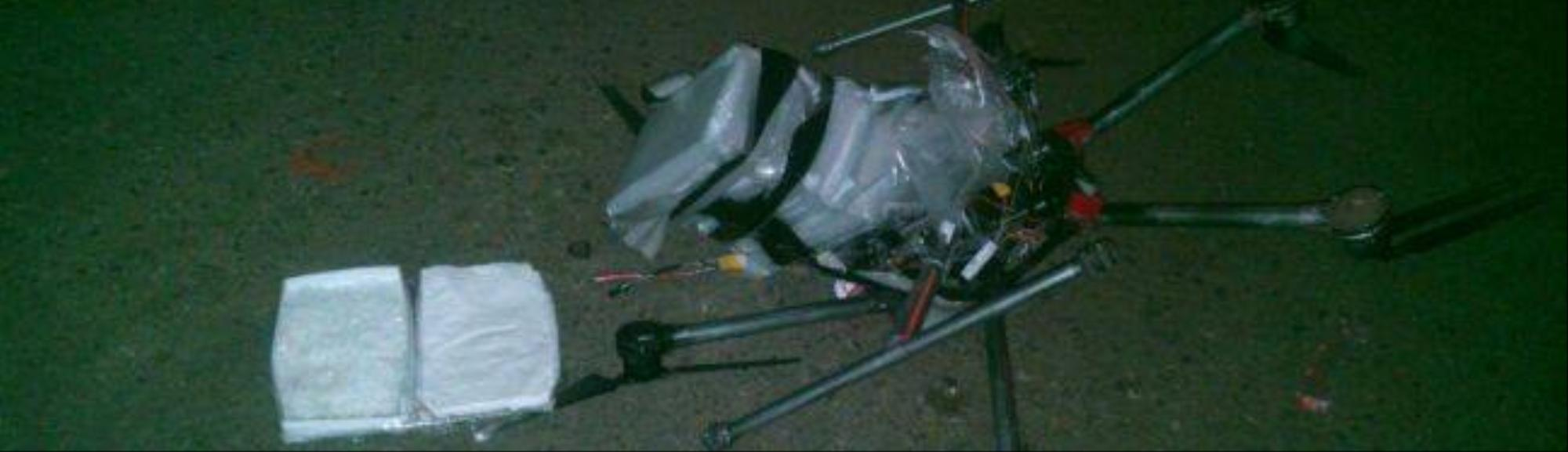 Drone Carrying Three Kilos of Meth Crashes in Tijuana