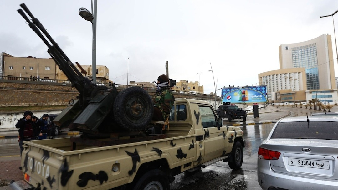 Libya Siege: Eight Reported Killed as Gunmen Attack Top Hotel in Tripoli