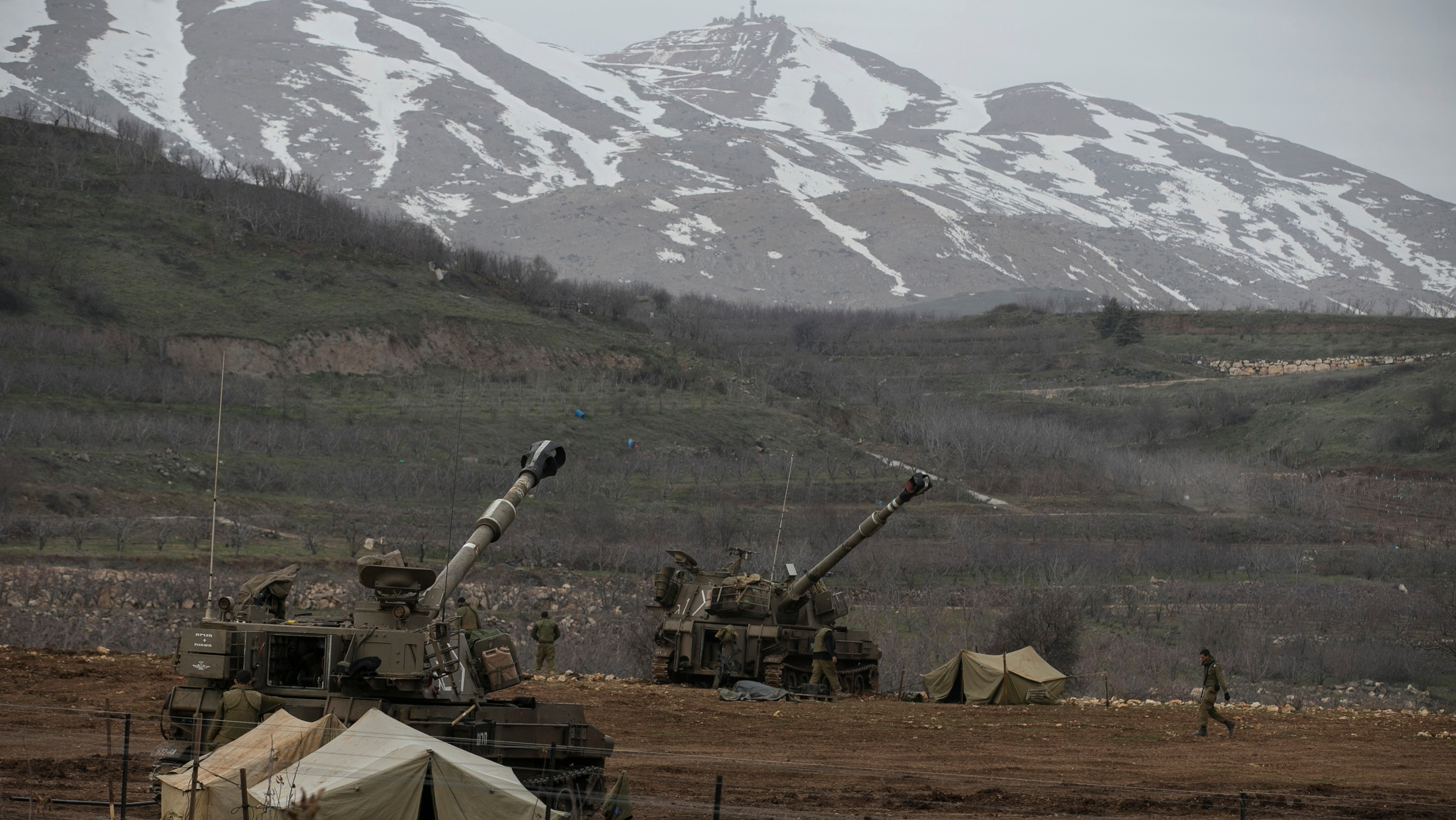 Rockets from Syria Hit Golan Heights as Israel's 'Quiet Border' Grows Restless