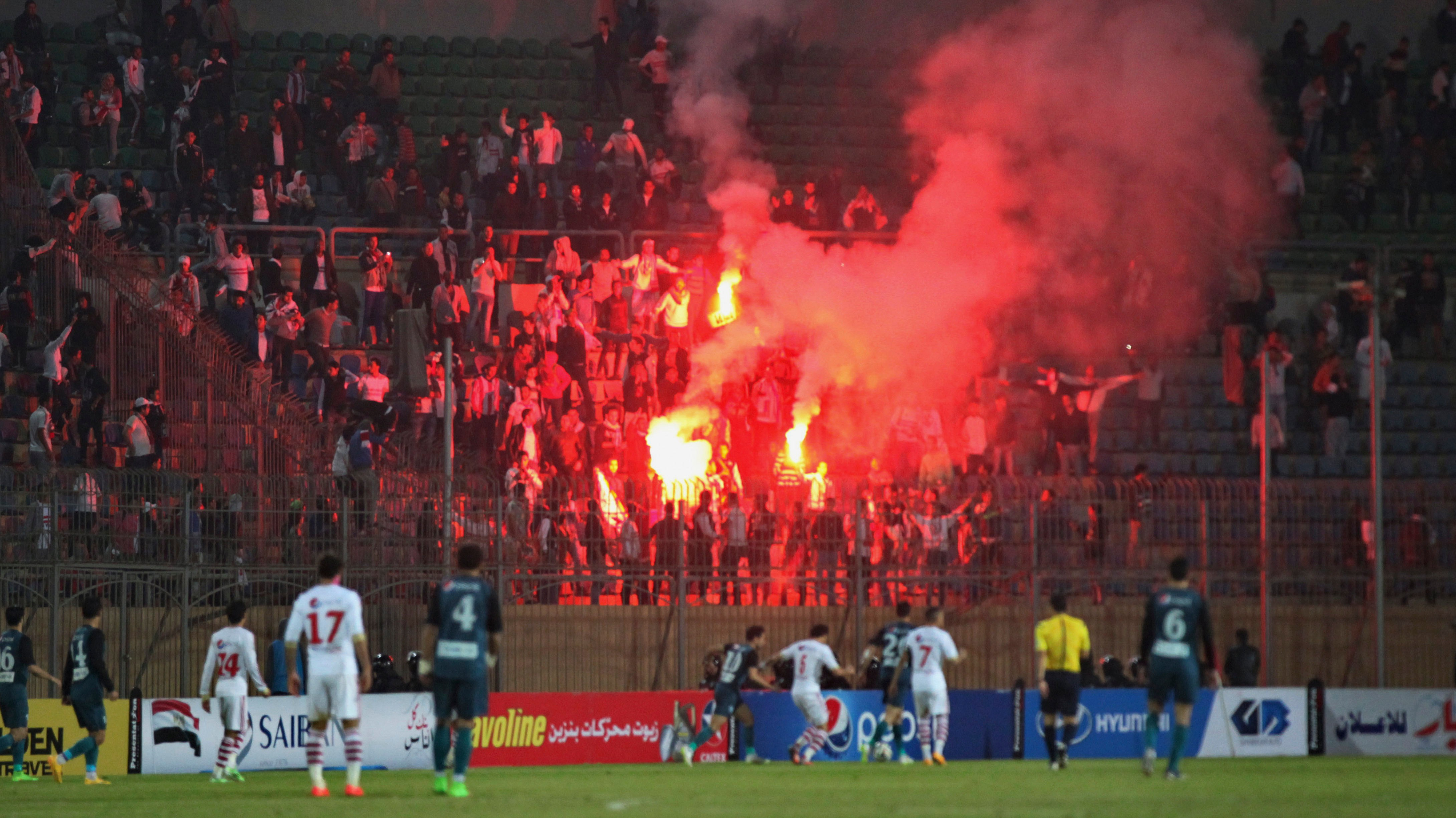 At Least 25 Reported Killed as Soccer Fans Clash With Riot Police in Cairo