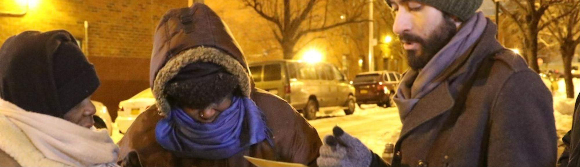 New Yorkers Hit the Streets Looking to Bring HOPE to the City's Homeless
