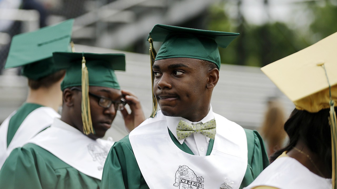 Wide Disparities In Graduation Rates >> The Graduation Gap Between White And Black Students Is Widening In