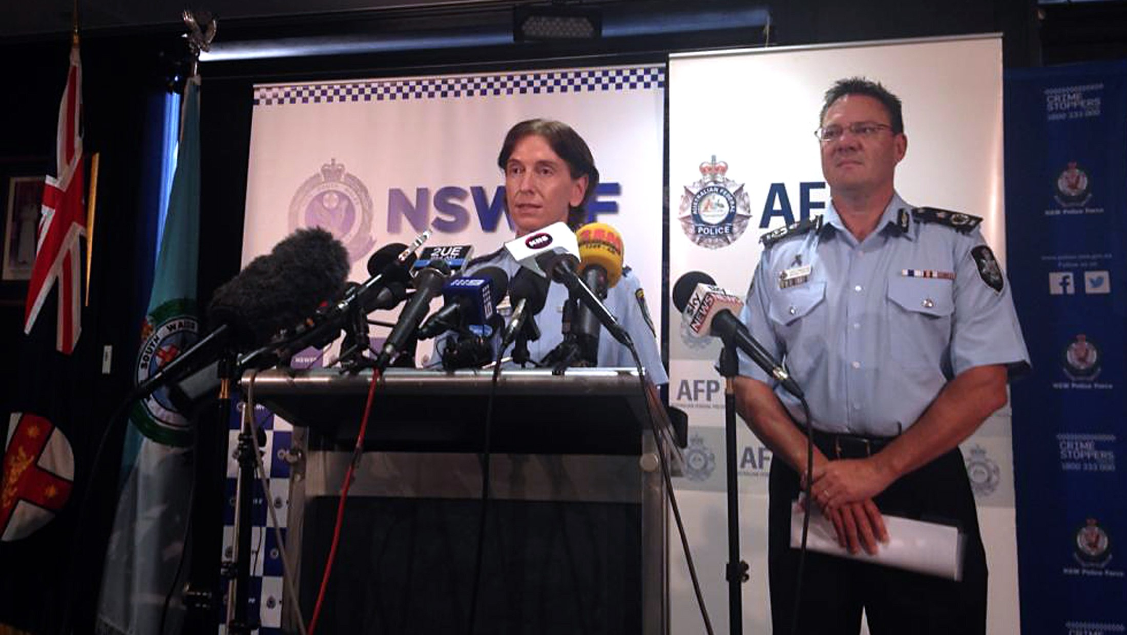 Australian Police Arrest Two Men Before Alleged 'Imminent' Islamic State Terror Attack