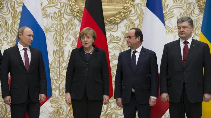 'Normandy Four' Meet for 'Last Chance' Negotiations on Ukraine Crisis