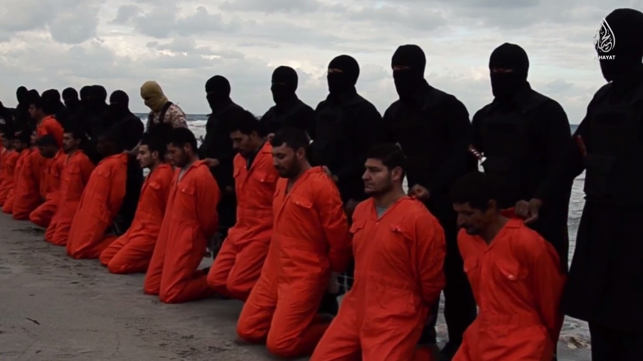 Islamic State Threatens to 'Conquer Rome' in Gruesome Video That Shows 21 Beheadings