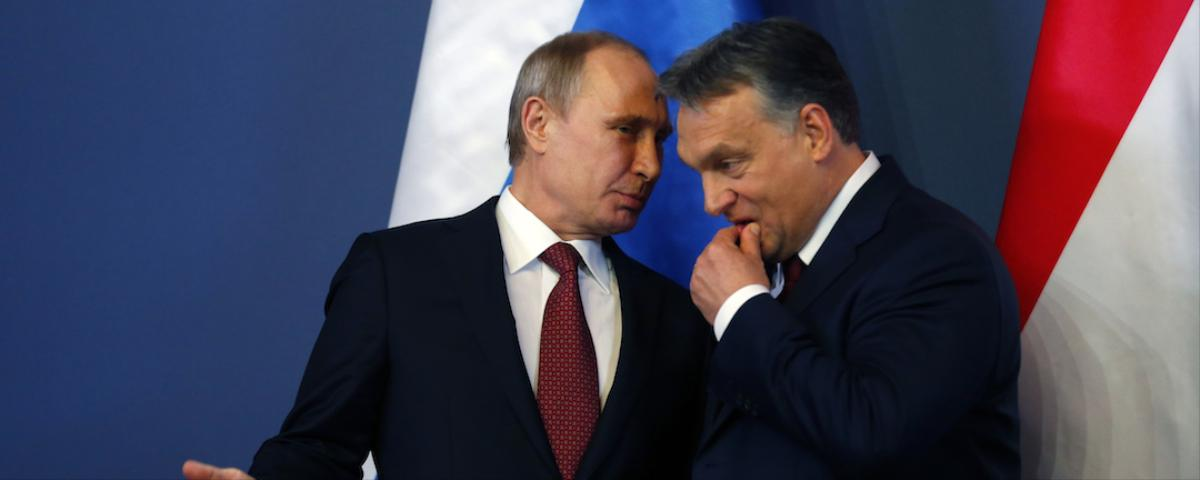 The Contest for Hungary's Allegiance Steps Up With Putin Visit