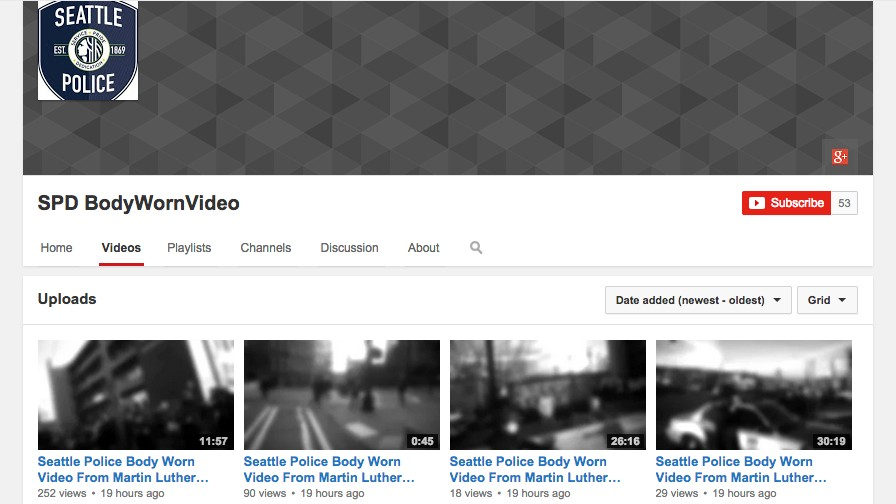 Hackers Help Seattle Police Launch YouTube Channel for Redacted Bodycam Videos