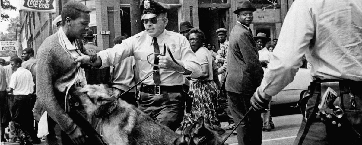 A Black Teen, a White Cop, and a Photo That Changed the Civil Rights Movement