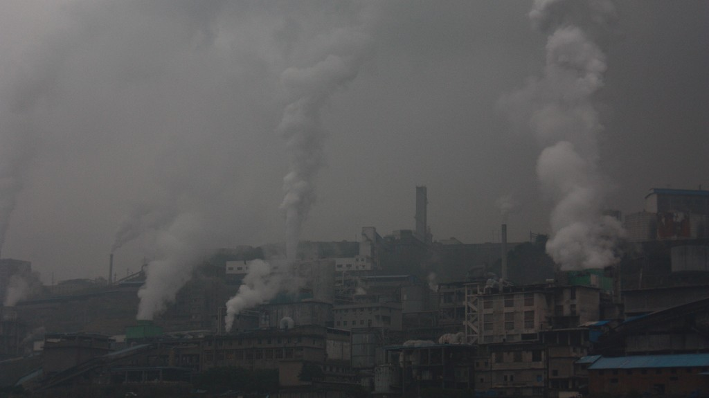 Cleaner Air in China Might Mean More Carbon Dioxide Pollution