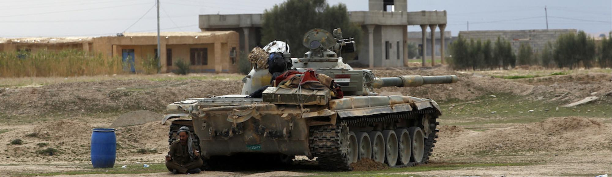Iraqi Forces Advance in the Battle for Tikrit, With a Little Help from Iran
