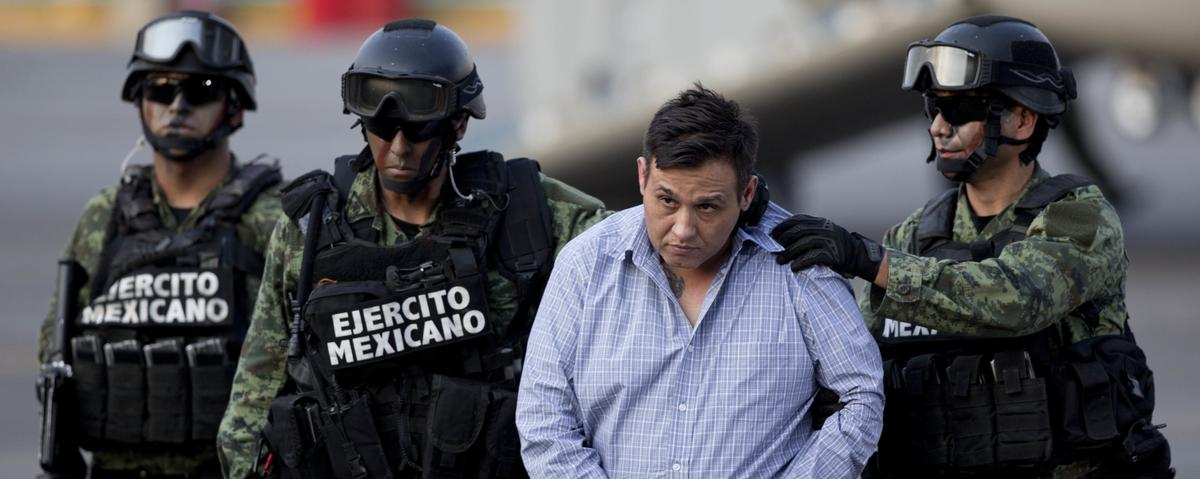 Drug Lord Known as 'Z-42' Is Second Mexican Capo to Fall In Less Than a Week