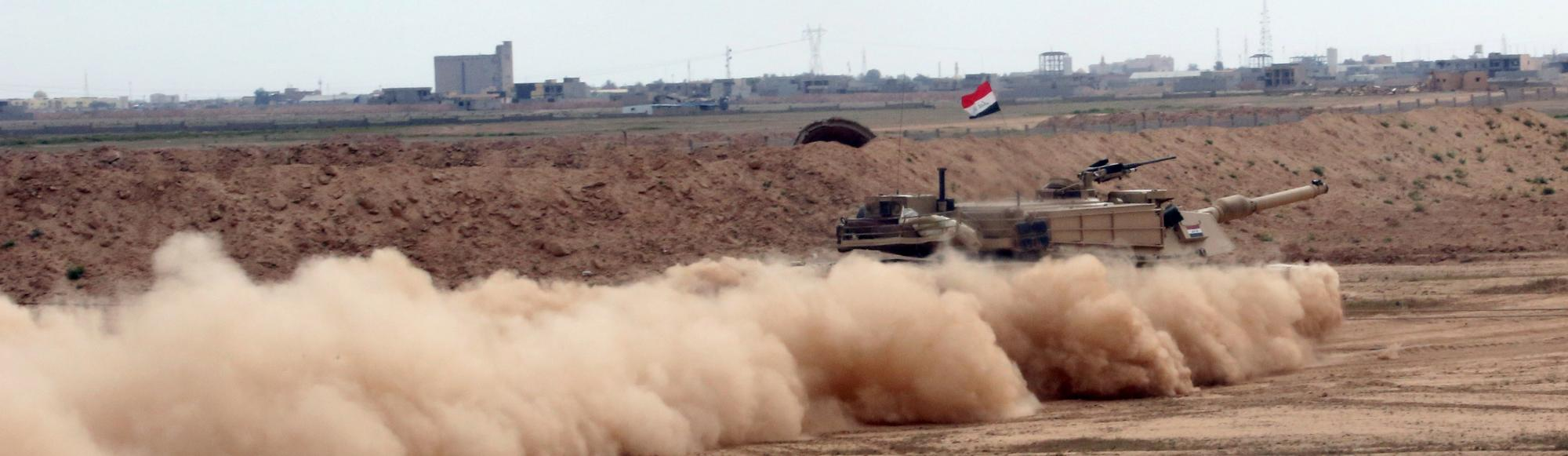 The Islamic State Is Trying to Terrorize Iraqi Troops with Chlorine Gas