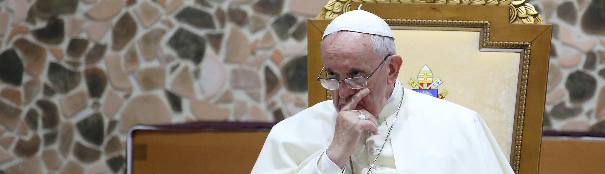 The Vatican Supports 'Legitimate' Violent Force Against the Islamic State