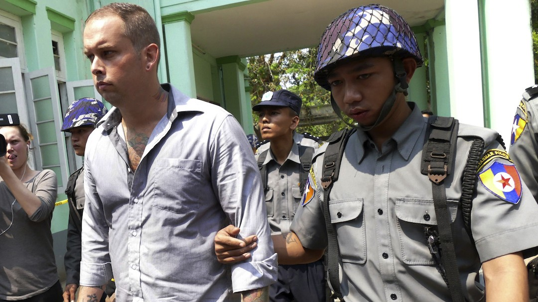 Myanmar Jails Trio for Two and a Half Years Over Bar Advert Deemed Insult to Buddhism