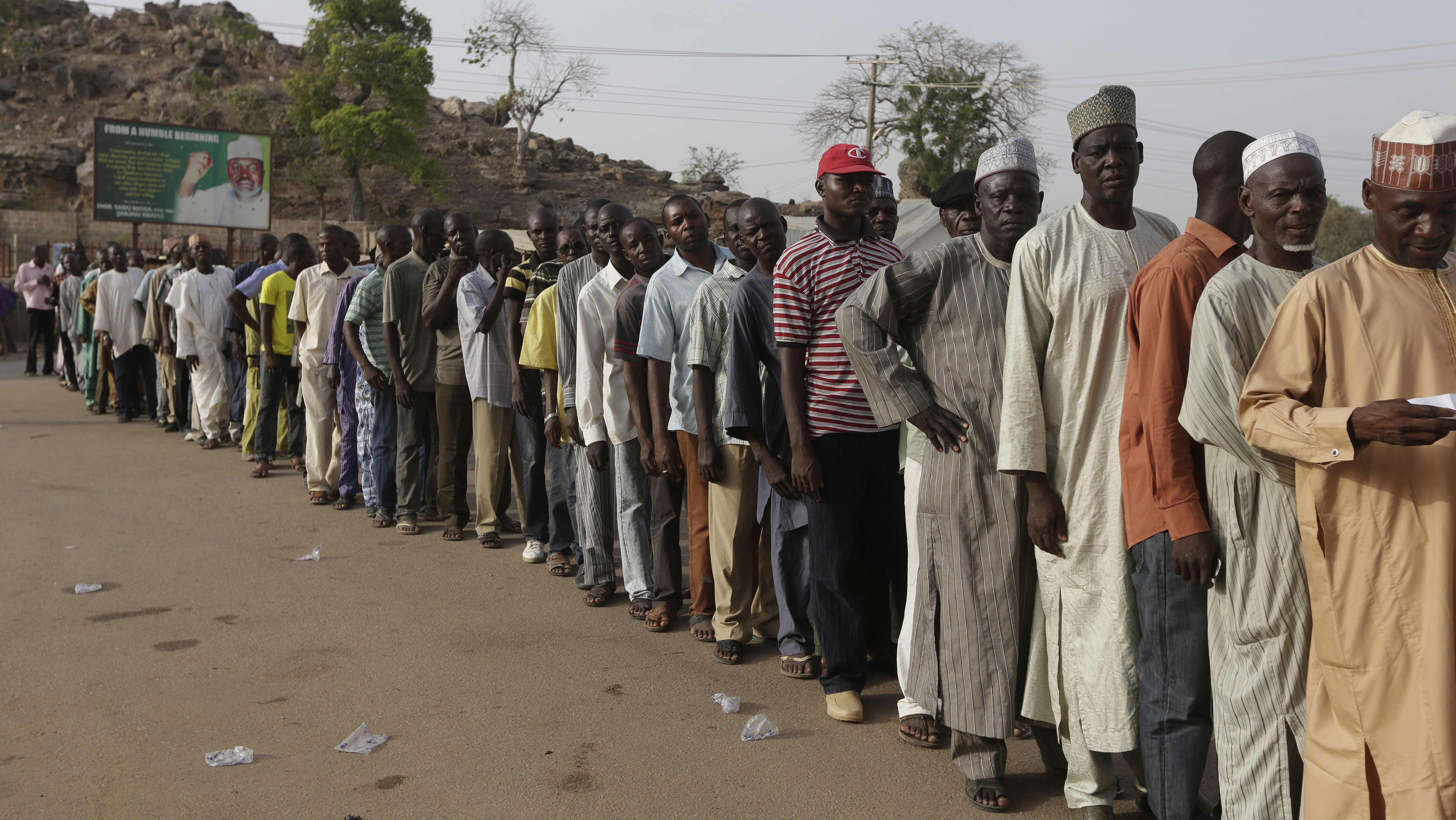 Second Day of Voting in Nigeria Ends With Sporadic Violence But No Major Incidents