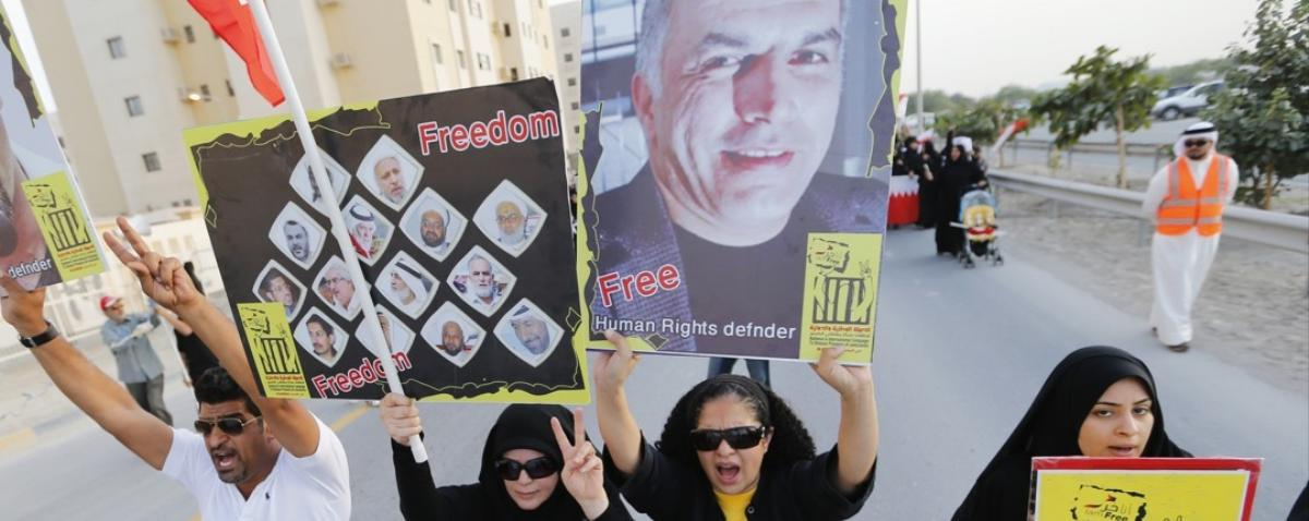 Bahrain Arrests Human Rights Champion Nabeel Rajab for 'Harming Civil Peace'