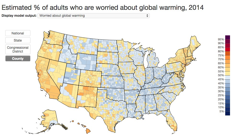 Believe Or Deny Climate Change? That Depends On Where You Live