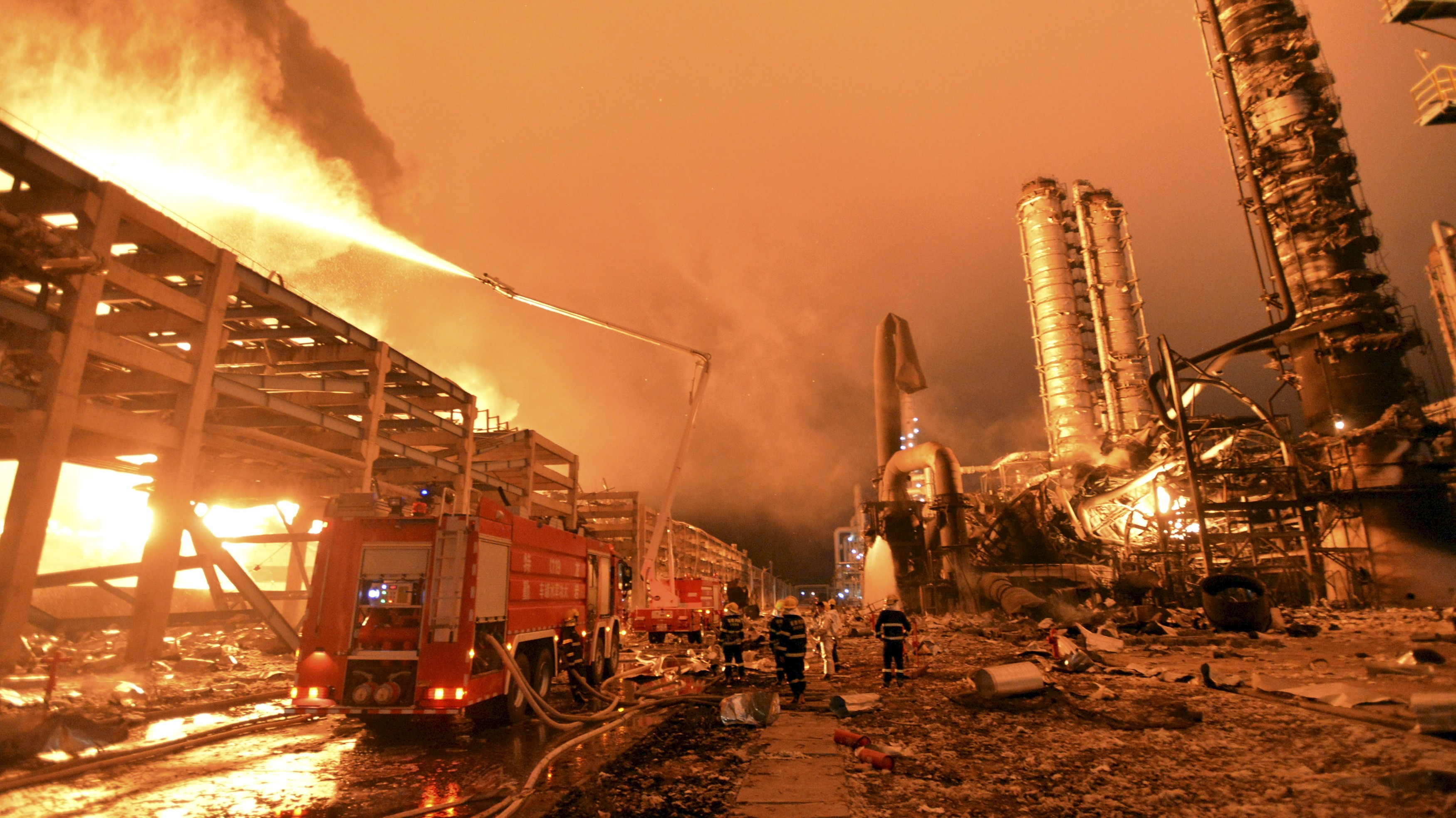 Massive Explosion in Zhangzhou, China Highlights Chemical Plant Risks