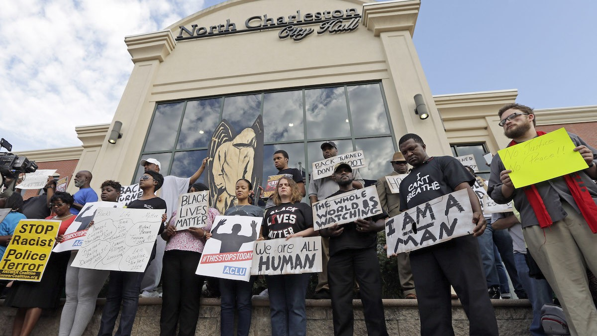Protests Follow Police Slaying of Walter Scott in South Carolina