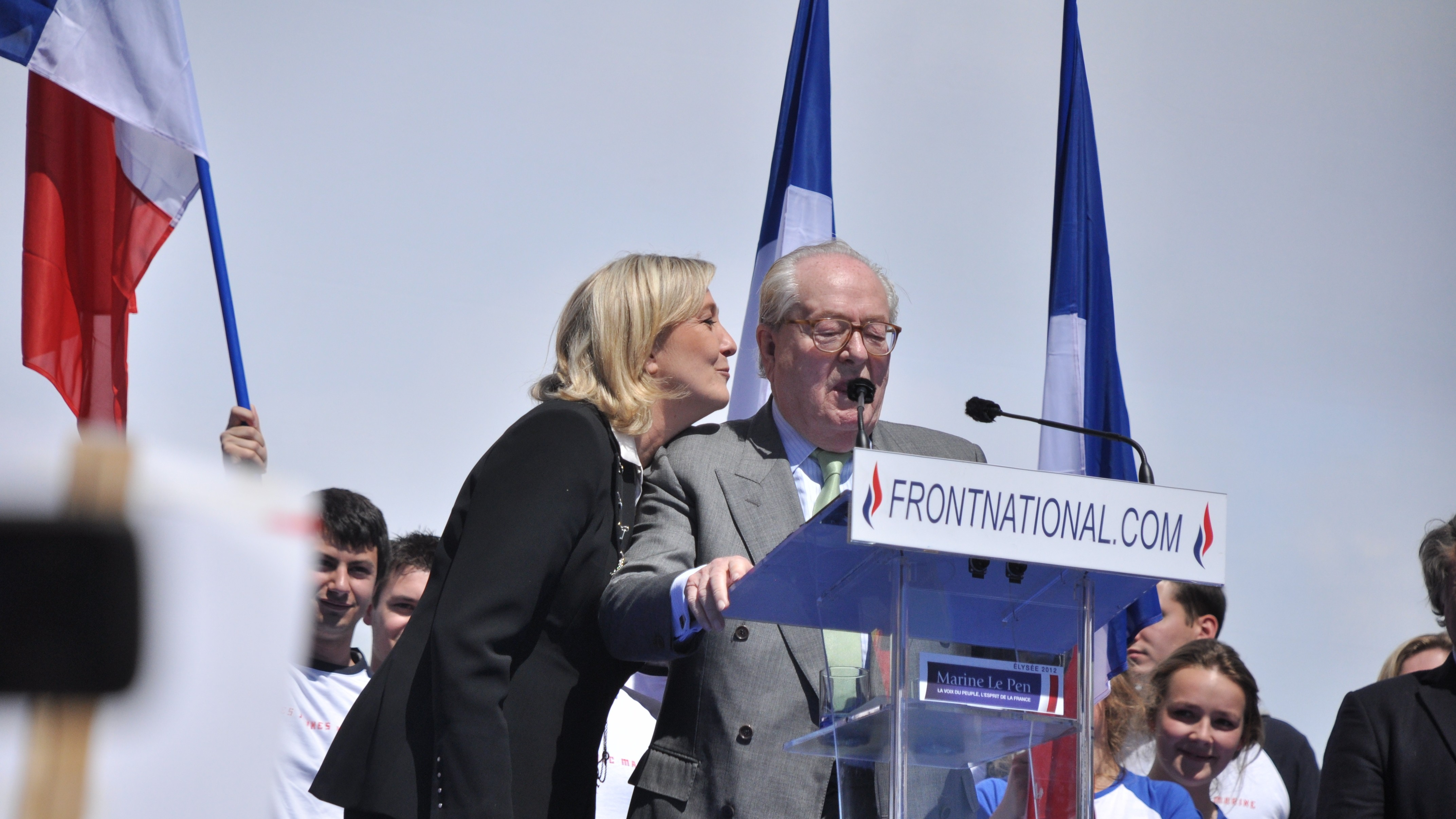 Right-Wing National Front's Marine Le Pen Seeks to Discipline Her Father and Party Founder